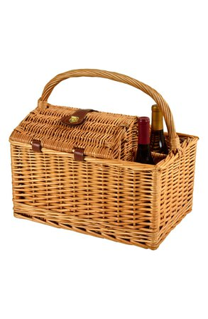 Picnic at Ascot Vineyard Wicker Picnic Basket for Two | Nordstrom