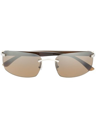 Cartier Eyewear Frameless Sunglasses - Farfetch