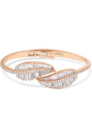 Anita Ko | Palm Leaf 18-karat rose gold diamond bracelet | NET-A-PORTER.COM