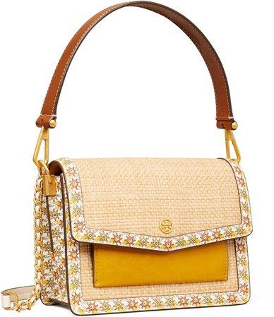 Robinson Straw Convertible Shoulder Bag