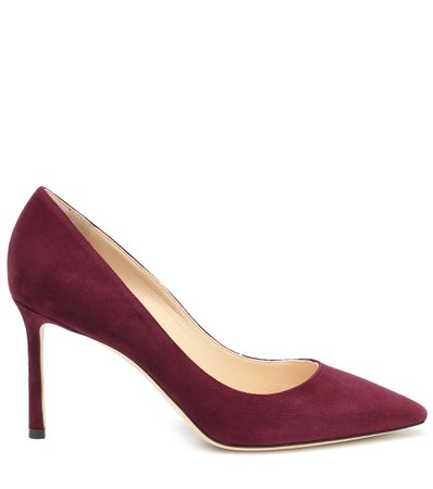 Jimmy Choo, Romy 85 suede pumps