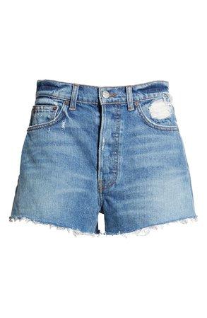 Reformation Dixie High Waist Cutoff Denim Shorts | Nordstrom