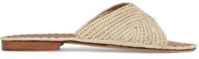 Carrie Forbes - Salon Woven Raffia Slides
