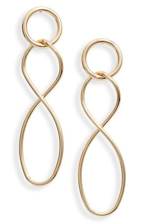 Halogen | Twisted Link Drop Earrings | Nordstrom Rack