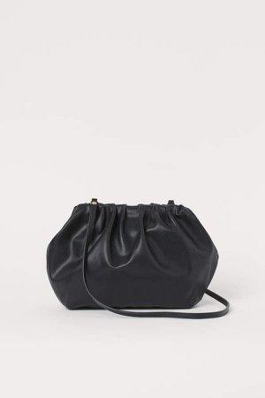 Soft Shoulder Bag - Black
