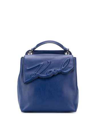 Karl Lagerfeld K/Signature Soft Backpack - Farfetch