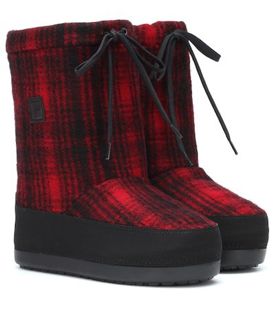 Checked Arctic Snow boot