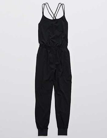 OFFLINE Nylon Jumpsuit black