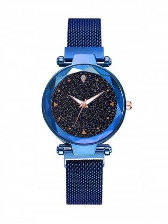 Starry Rhinestone Wrist Quartz Watch