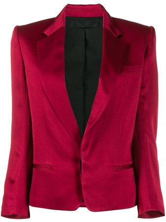 Red Haider Ackermann Colour Block Blazer | Farfetch.com