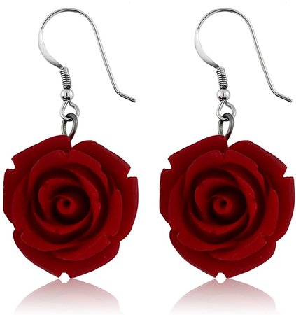 rose earrings - Google Search