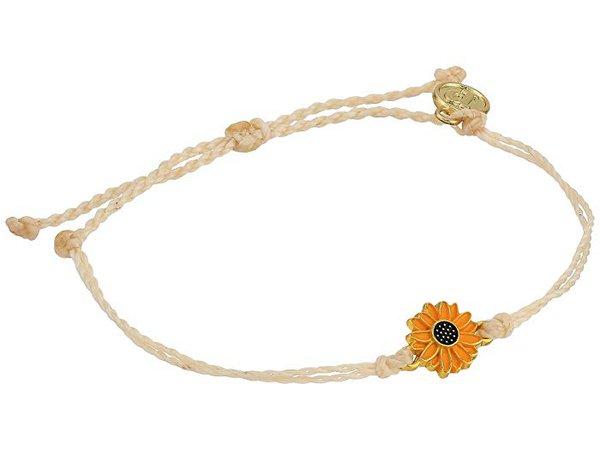 Pura Vida Enamel Sunflower Bracelet