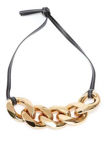 JW Anderson Large chain-link Necklace - Farfetch