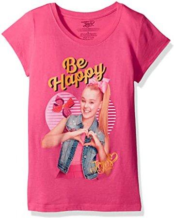 Amazon.com: Nickelodeon Big Jo Siwa Portrait Picture Girls Short Sleeve T-Shirt, Tahiti Blue, M-8/10: Clothing