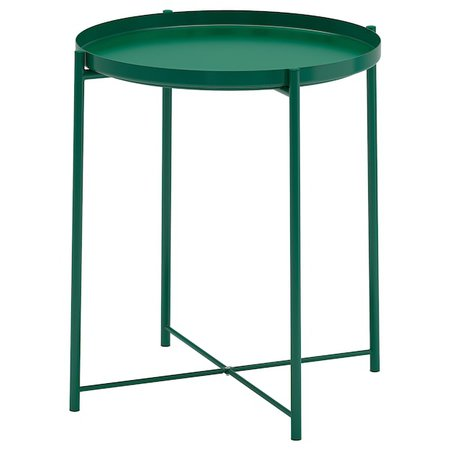 "GLADOM Tray table, green, 17 1/2x20 5/8"" - IKEA"