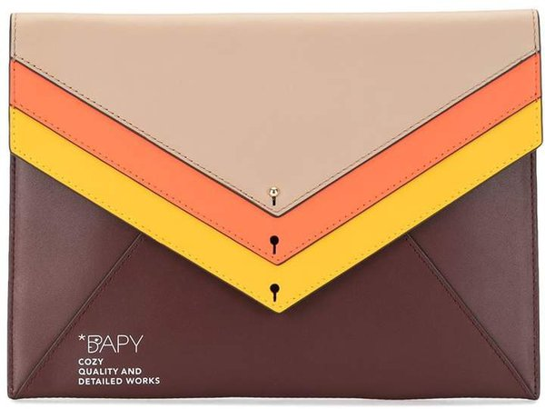 Bapy Layered Envelope Clutch