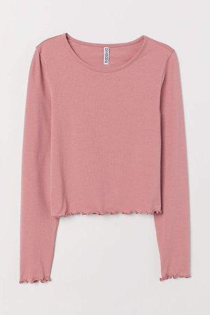 Jersey Top - Pink