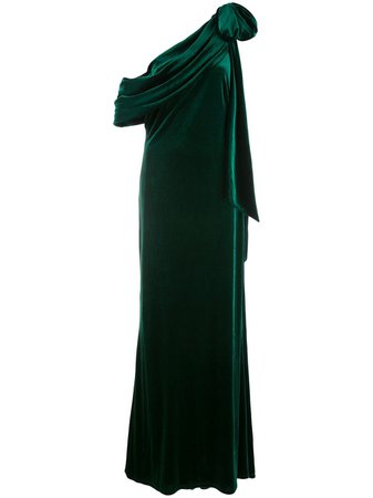 Tadashi Shoji, Alvar Velvet Evening Gown