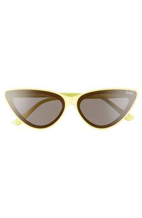 Quay Australia x Lizzo Flex 47mm Cat Eye Sunglasses | Nordstrom