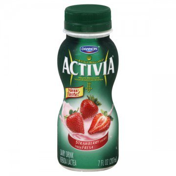 Dannon Activia Probiotic Drinkable Yogurt Strawberry » Cereal & Breakfast Foods » General Grocery