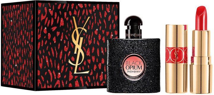 Black Opium & Rouge Volupte Shine Lipstick Mini Set
