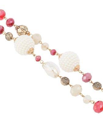 Edward Achour Paris multi-beaded Necklace - Farfetch