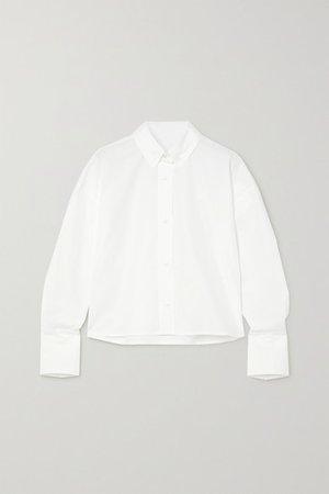 Pulau Cotton-poplin Shirt - White