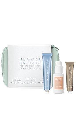 Summer Fridays Hydration Set in | REVOLVE