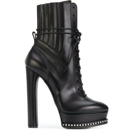 Casadei City Rock platform ankle boots
