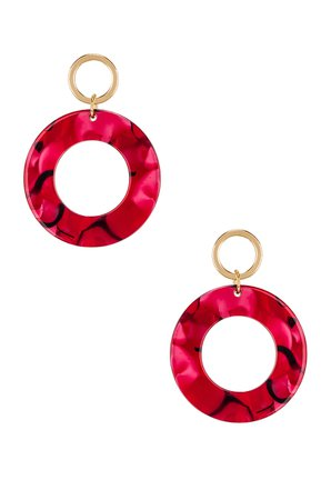 Double Hoop Drop Earring