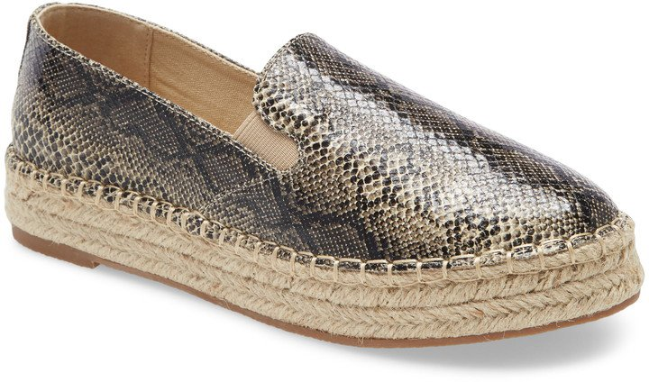 Peaches Slip-On Espadrille