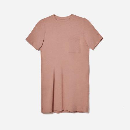 Women's Weekend Tee Dress   Everlane pink