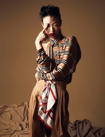 LABYRINTHE dami with BURBERRY