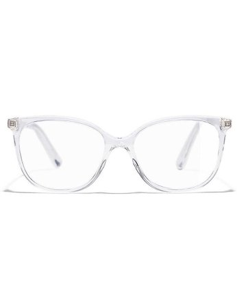 CHANEL - 0ch3383 clear-frame glasses - glasses