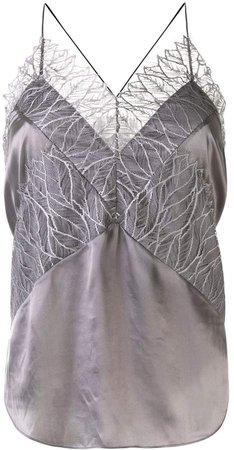 Irma lace detail camisole top