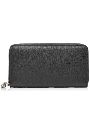 Leather Continental Zip-Around Wallet Gr. One Size