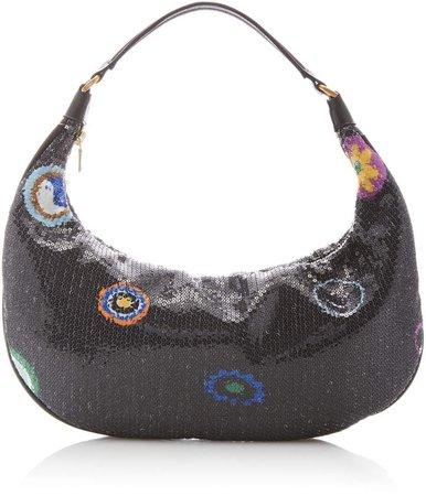 Staud Sasha Embellished Shoulder Bag
