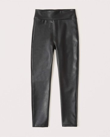 Women's Vegan Leather Leggings | Women's | Abercrombie.com