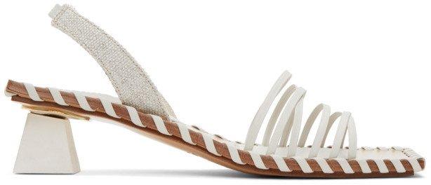 Off-White Les Sandales Valerie Heeled Sandals