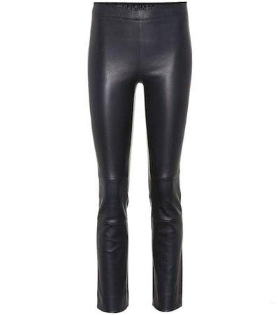 Maria Rosa leather pants