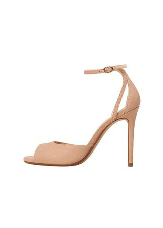 MANGO Ankle-cuff sandals