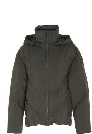Hooded Shell Puffer Jacket