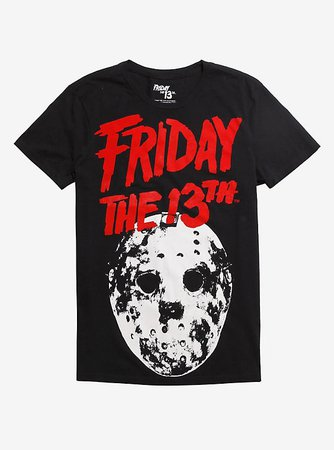 Friday The 13th Red Logo T-Shirt