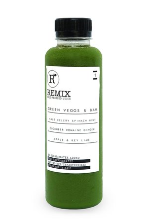 COLD PRESSED JUICE GREEN VEGGS & BAM  From: Rp 38.000 GREEN VEGGS AND BAM REJUVENATING