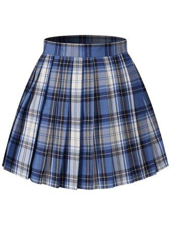 Ravenclaw Plaid Skirt