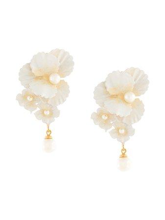 Jennifer Behr, Sadira floral earrings