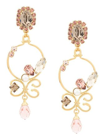 Erdem Erdem Crystal Earrings44 | italist
