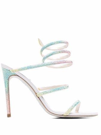 René Caovilla Cleo open-toe Sandals - Farfetch