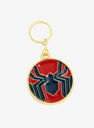Marvel Spider-Man Iron Spider Logo Enamel Key Chain