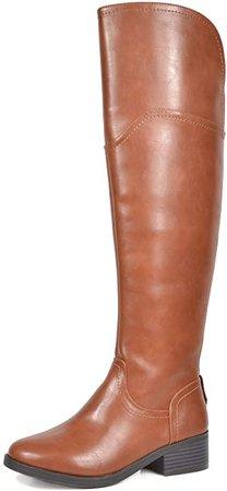 Amazon.com | TOETOS Women's Knee High Riding Boots | Knee-High